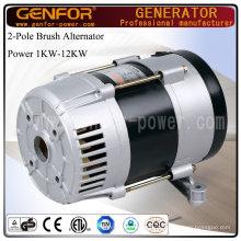 100% alternador de fio de cobre para motor a diesel, máquina de compressão de ar