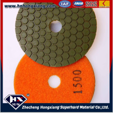 "4 ""resina Diamond Polishing Pad seca para pedra"