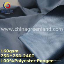 Полиэстер Pongee тиснением комбинированные ткани для спортивной одежды (GLLML259)