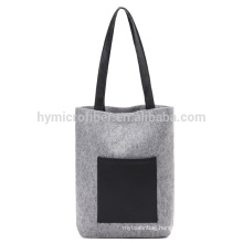 Simple fashion felt shopping bag