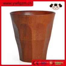 taza de cerveza de madera de alta calidad / taza fabricante de China con el logotipo del cliente