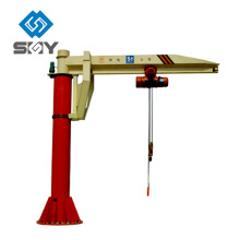 New Design BZ Model Electric Wire Rope Fixed Used 0.25 t jib crane For Sale