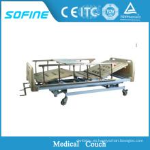 SF-DJ111 sofá de examen médico del hospital últimos diseños de cama de metal