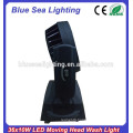 Top RGBW color mixing 36x10w led beam wash