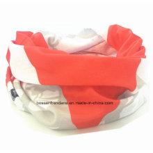 OEM Produce diseño personalizado Impreso Deportes cuello de tubo de deportes de la venda de púas