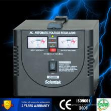 Alumínio | Transformador toroidal de cobre conduziu o indicador 500u regulador de tensão 300w