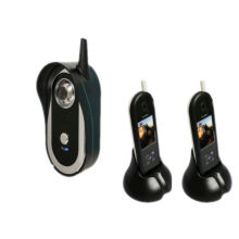 Waterproof Wireless Colour Video Doorphone System With Security Camera