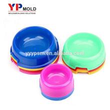 Moulage par injection en plastique de bol en plastique d'alimentation de chien de chiot en plastique d'excellente santé saine