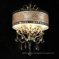 Heißer Verkauf Handgefertigte Ovale Form Kleine Kristall Romantische Pendelleuchte für Dekoration
