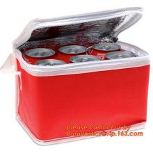 Sac isotherme isolés promotion des aliments surgelés, sac promotionnel de glace refroidisseur sacs haute qualité promotionnel en gros isolé c