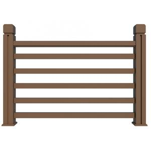 Anti-UV eco-friendly composite railing