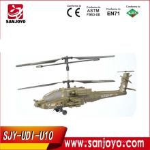 2.4G Emulation HZ AH-64 Apache helicopter U10