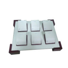 Neue 6 Slot MDF PU Pendent / Halskette Display Tray (TY-6P-WL1)