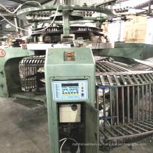 Подержанная 34-дюймовая Xinlong Single Jersey Открытая ширина вязальная машина