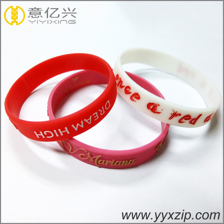 Promotional Custom Silicone wristband