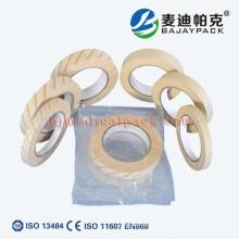 Bande d'autoclave de stérilisation de vapeur de pression auto-adhésive