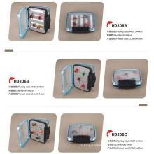 Free Shipping Slim Foam Waterproof Plastic Fly Fishing Box
