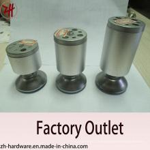 Fábrica de Venda Direta de Mobiliário de Zinco cromado e pernas de sofá (ZH-8058)