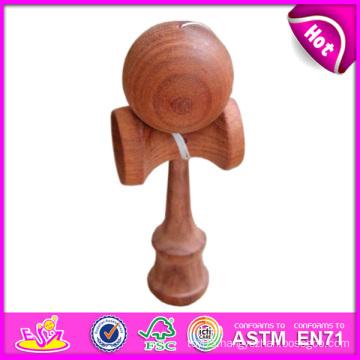 Interesting Wood Kendama Wholesale, Funny Best Quality Wooden Toy Kendama, Wooden Kendama Toy with 18.5*6*7cm W01A023