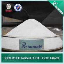 Suministro de Fábrica Metabisulfito de Sodio de Grado Alimenticio / Metabisulfito de Sodio / Smbs (Na2S2O5) 7681-57-4