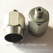 Composants métalliques sur mesure avec différents traitements de surface