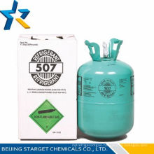 Refrigerant gas r507 for sale in 11.3kg/25lb disposable cylinder