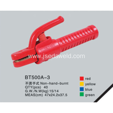 Non Hand Burnt Type Electrode Holder BT500A-3