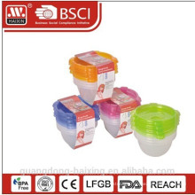 Plastic Microwave Food Container 0.14L(1pc)