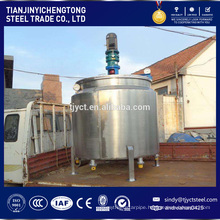 Automatic electrical heating chemical mixing tank
