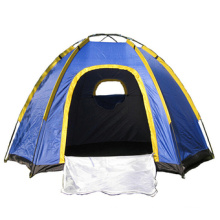 Camping Automatic Hexagonal Netting Double Layer Tent