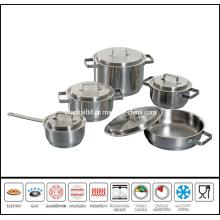 10PCS Stainless Steel Casserole Set