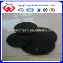 Disco de filtro de alambre negro