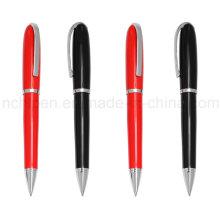 Плавная насадка Рекламная металлическая шариковая ручка