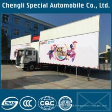 JAC palco móvel caminhão palco plataforma caminhão palco para venda