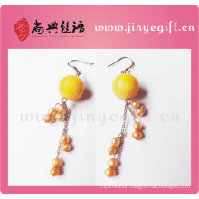 Guangzhou Craft Jewellery Novelty Women's Pearl Earrings bijoux