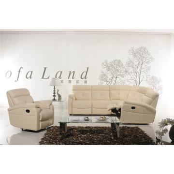 Sofá reclinable eléctrico USA L & P Mechanism Sofa Down Sofa (865 #)