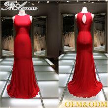 7642b79ab398f العرف فستان الزفاف الزفاف تول فساتين الزفاف الكرة ثوب جديد وصول 2016 أنيقة  الأحمر فساتين السهرة