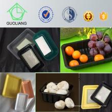 Chine Fabricant Pas Cher Haute Qualité En Plastique Congelés Emballage Alimentaire Plateau Fournir