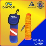 1.5m Dive PVC float with 5m rope
