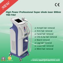 Безболезненная вертикальная лазерная эпиляция Лазер 808 Nm для удаления волос