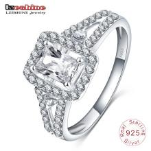 9,25 prata esterlina com anel de jóias pedra preciosa Sri0012-B