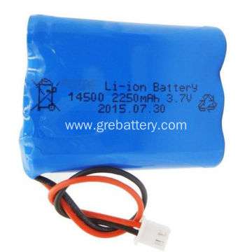 3.7V 2250mAh 1S3P Cheap AA Rechargeable Batteries