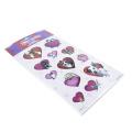 Cão princesa série adesivo scrapbook bolha adesivos recompensa crianças brinquedos adesivos