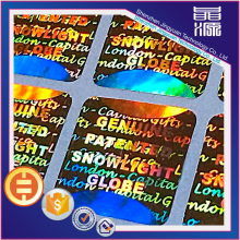 Customized security 3d sticker hologram labels