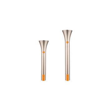 Blanc Couleur Bonne qualité Super Luminosité LED Rechargeable Flashlight (Mr3000)