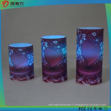 Lumière électrique colorée extérieure de bougie de mini d'ampoule de bougie de LED