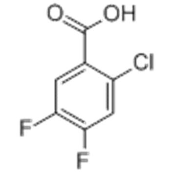 Benzoicacid, 2-chloro-4,5-difluoro- CAS 110877-64-0