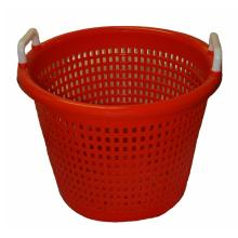 Plastic laundry-shopping-fruit-handle basket moulds