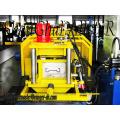Correa de Sigma de acero galvanizado formando estante de la máquina plataforma poste metálico rodillo ex Sigma Metal post máquina formadora de rollos