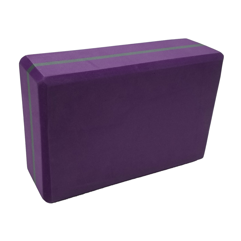 EVA purple Yoga Block